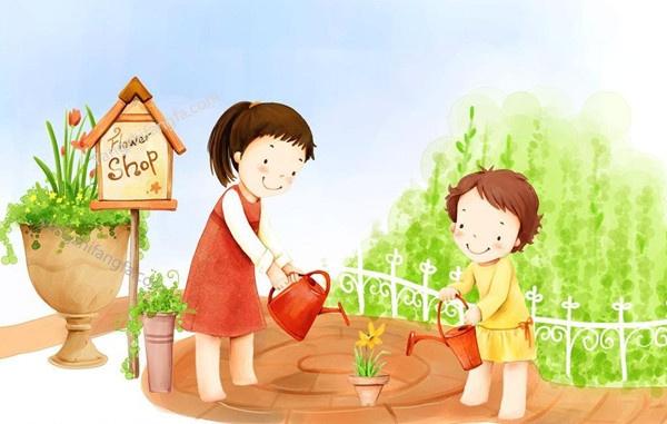 """花卉浇水的""""七多""""与""""七少""""原则"""